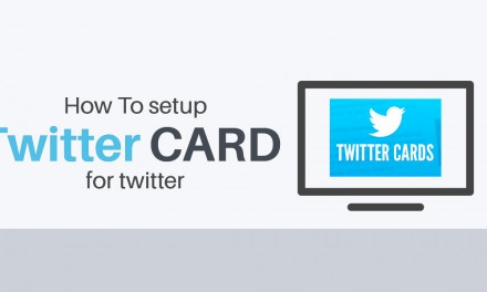 Settare una twitter card