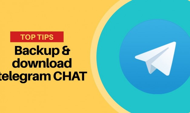 Backup delle chat telegram