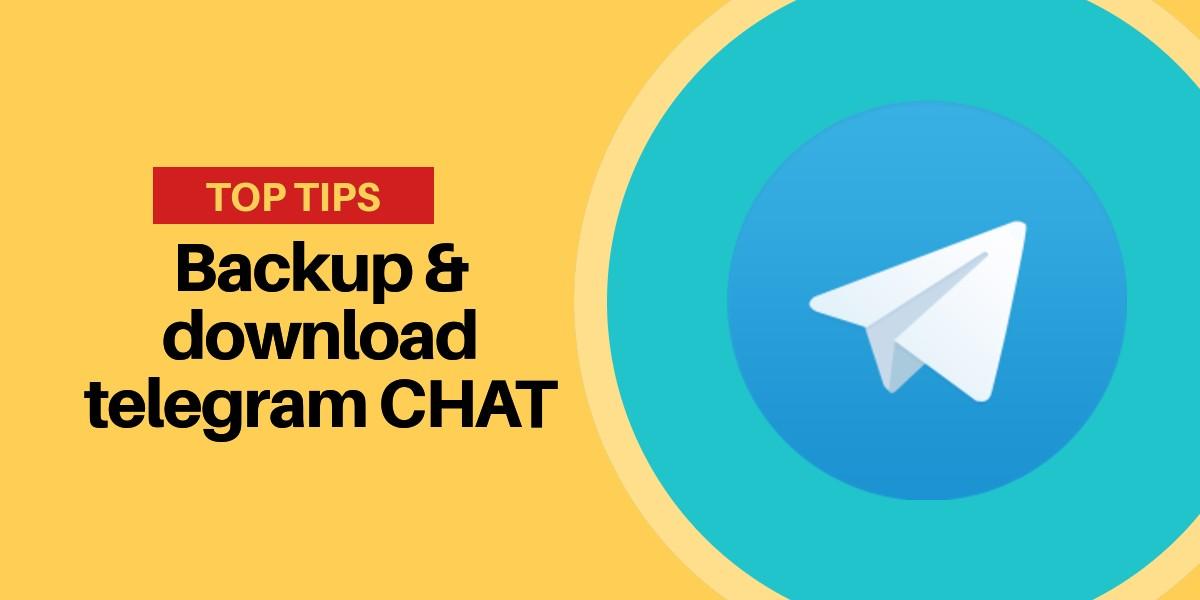 Backup delle chat telegram