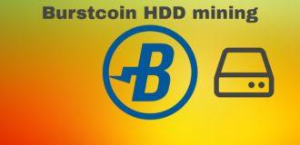 burstcoin harddisk mining