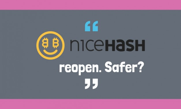 Nicehash is back. Safer?