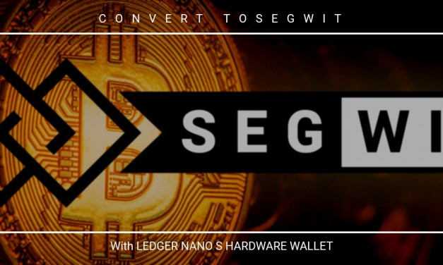 How to move BTC from legacy to Segwit address