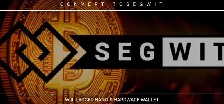 How to move BTC from legacy to Segwit address | massmux com