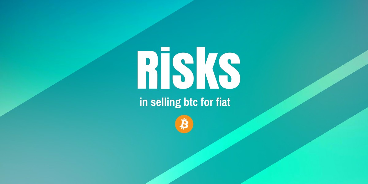 Selling BTC for fiat with paypal? NO thanks