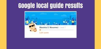 google local guide results