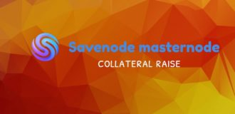 savenode collateral raise