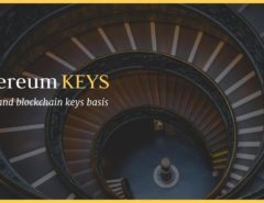 private public keys ethereum blockchain