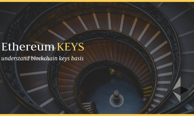 Private and public keys on ethereum