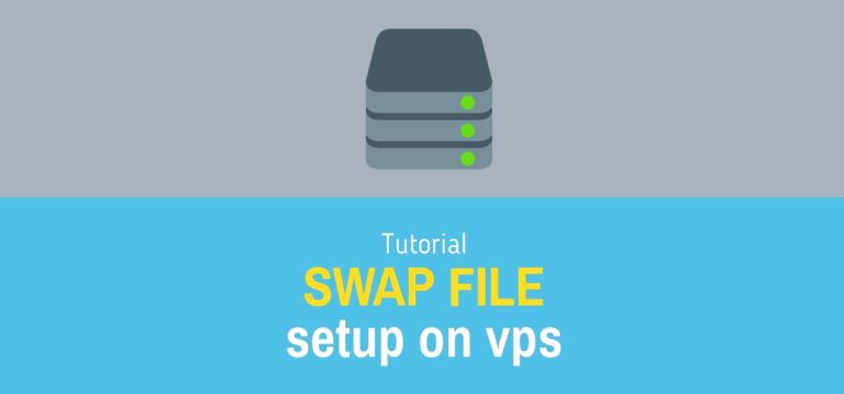swap file setup on vps server
