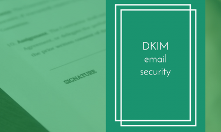 DKIM email signing