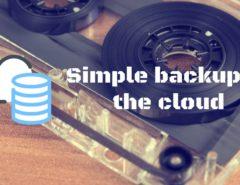 backup to cloud share