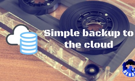 Simple backup to a cloud share