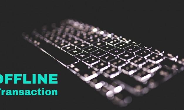 How to send an offline ETH transaction