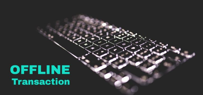 send offline eth transaction