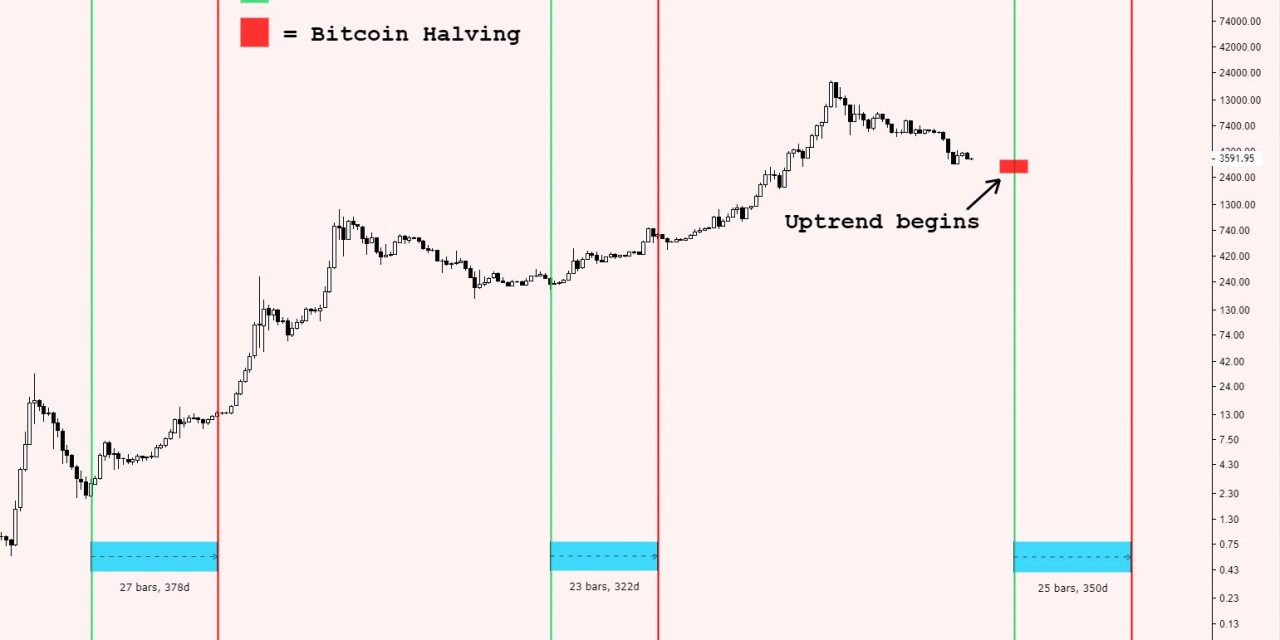 Impact of Bitcoin halving on price