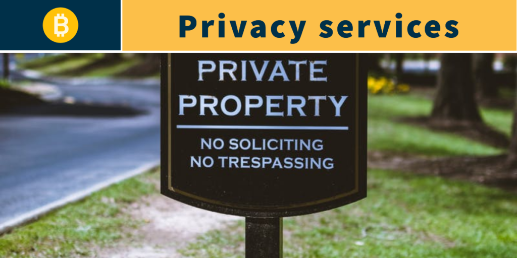 bitcoin privacy services