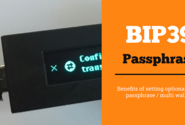 setting bip39 passphrase ledger nano