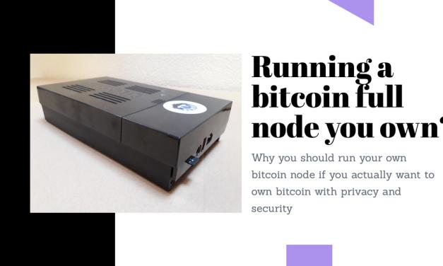 Running an own bitcoin full node