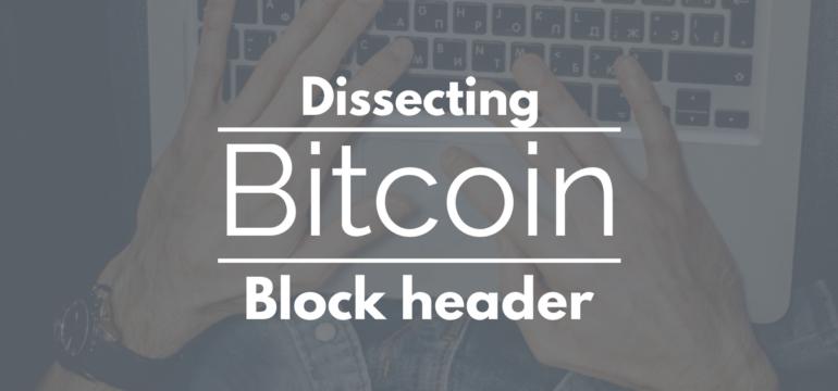 bitcoin block header hash