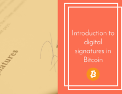 bitcoin digital signature