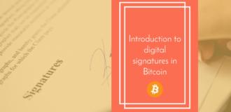 bitcoin digital signature