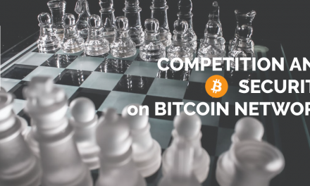 Competition and security on Bitcoin network