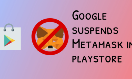 Google strikes again: metamask android cli suspended