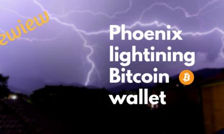 Phoenix lightning network wallet