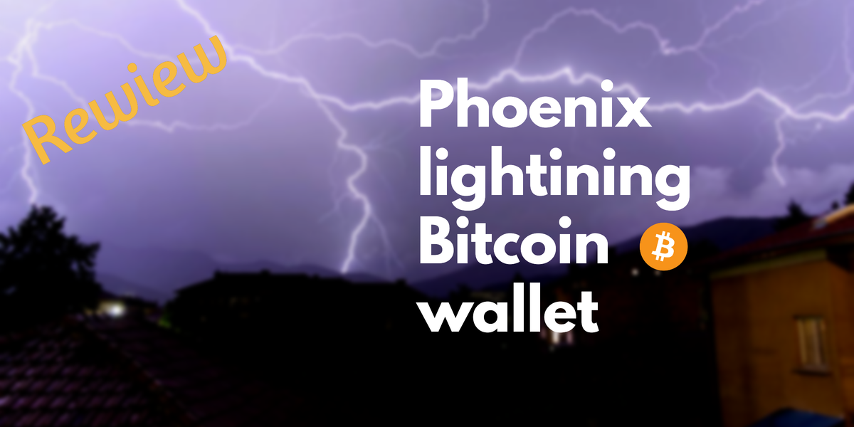 Phoenix lightning network wallet
