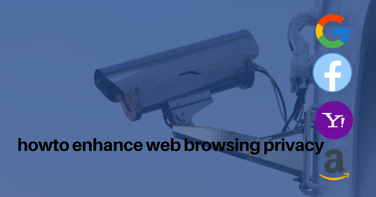 Enhancing privacy while browsing the web
