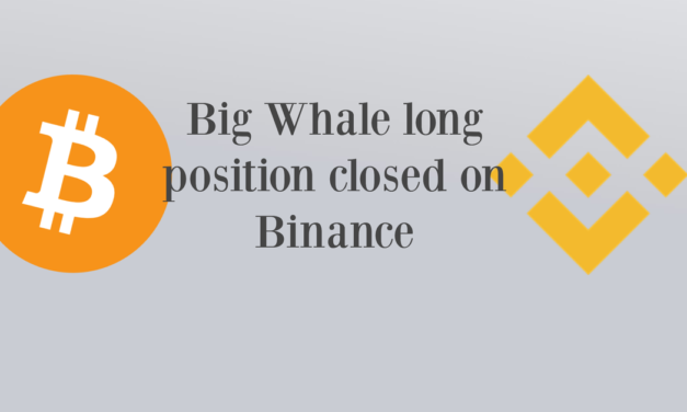 A big 2M$ long position has been closed on Binance. Correction?