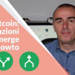 Bitcoin: effettuare transazioni di split e merge di coin nel proprio wallet