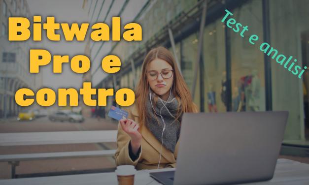 Test e analisi indipendente di Bitwala (bank account con wallet bitcoin)
