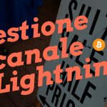 Tutorial: gestione canale lightning network su electrum