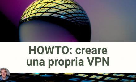 Howto: Configurare la propria VPN su server privato virtuale